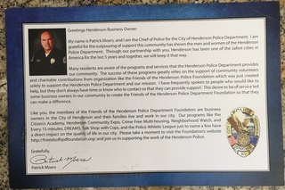 Questions after Henderson police chief removed
