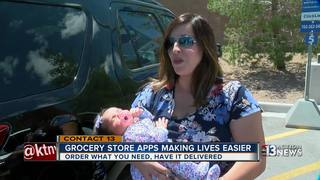 Grocery store tech making life easier for moms