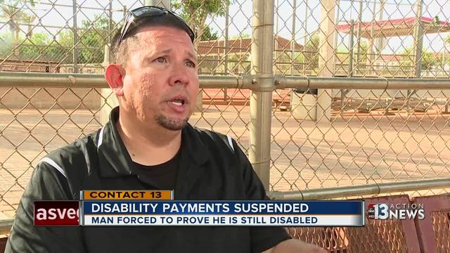 Amputee forced to prove he is still disabled
