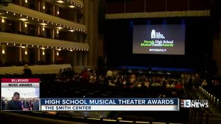 Students compete in musical theatre awards