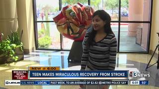 Desert Pines rallies behind rare stroke victim