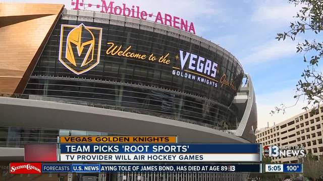 Root Sports selected as Golden Knights TV home