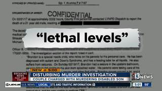 Couple charged in death of special needs son