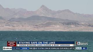 Officers at Lake Mead gear up for busy weekend