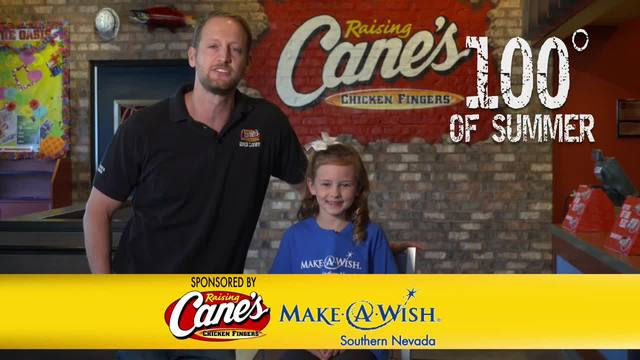 Rasing Cane-s 100 Degrees of Summer to Benefit Make a Wish
