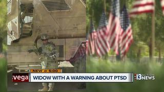 Local mom raising awareness of veteran suicide