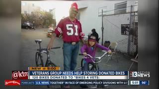 Veterans group in need of storage space