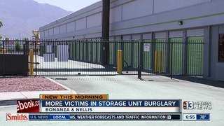 More people claim storage units burglarized