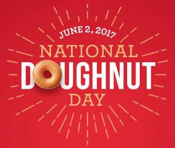 It's Doughnut Day too