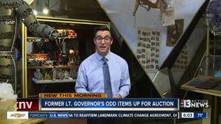 Former Lt. Governor's odd items up for auction