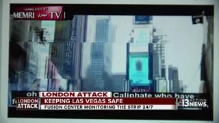 Las Vegas reacts to London terror attacks