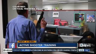 Officers start active shooter training company