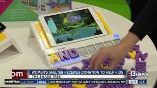 Shade Tree receives donation from Square Panda