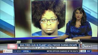 UPDATE: Planet Hollywood suspect identified
