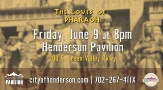 Orchestral screening of 'The Loves of Pharaoh'