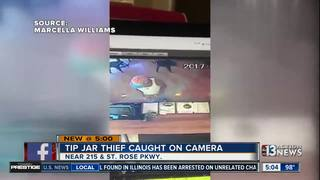 Tip jar thief caught on camera in Henderson