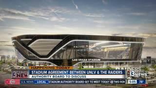 Stadium Authority to discuss UNLV agreement
