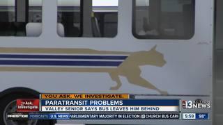Local senior says Paratransit left him behind