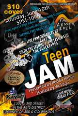 TEEN JAM will feature local bands