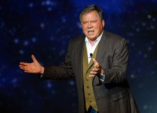 Go weightless with William Shatner this August