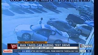 Man steals car during test drive