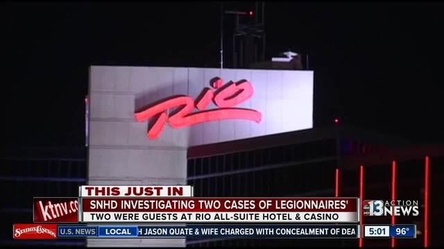 2 guests contract Legionnaires' disease at Las Vegas hotel