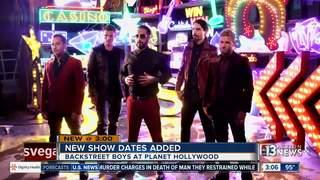 Backstreet Boys announce more Las Vegas shows