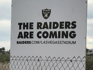 Las Vegas Raiders stadium tax ahead of schedule