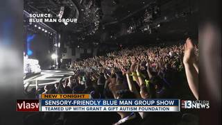 Blue Man Group performs special show for autism