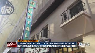 The old El Portal theatre to become a tavern