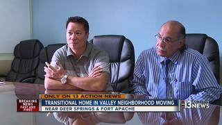 Transitional home moving after Action News story