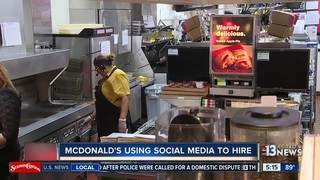 McDonald's using Snapchat to hire 1,000 locals