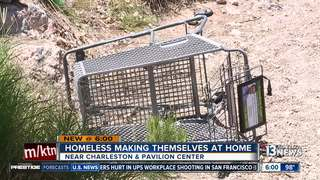 Costco removes homeless camp near Summerlin park