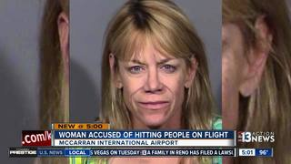 Woman released on bail after disturbing flight