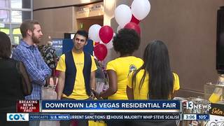 City hosts residential fair for Downtown Vegas