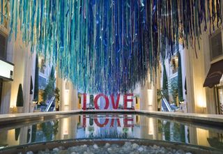 One-of-a-kind installation makes Venetian debut