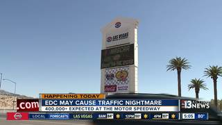 Tips for dealing with EDC traffic this weekend