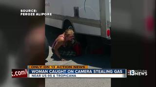 Man catches gas thief redhanded on video