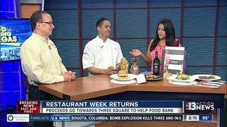 Restaurant Week benefits Three Square