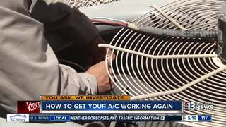 What to do if your air conditioner stops working