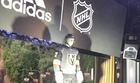 Golden Knights unveil jersey in Las Vegas