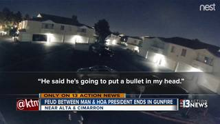 Police: Man opens fire on HOA president