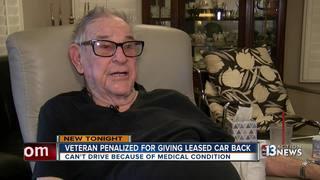 Veteran penalized for giving car back