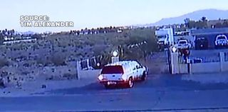 VIDEO: Thieves take safe from family home