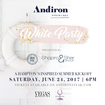 Andiron's White Party happening Saturday