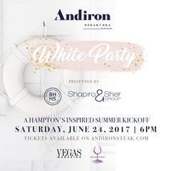 Andiron's White Party happening Saturday