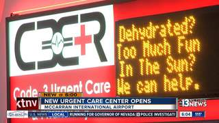Urgent care services now available at airport