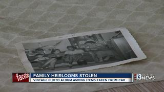 Sentimental photos stolen from Las Vegas woman