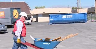 Volunteers help church destroyed by fire