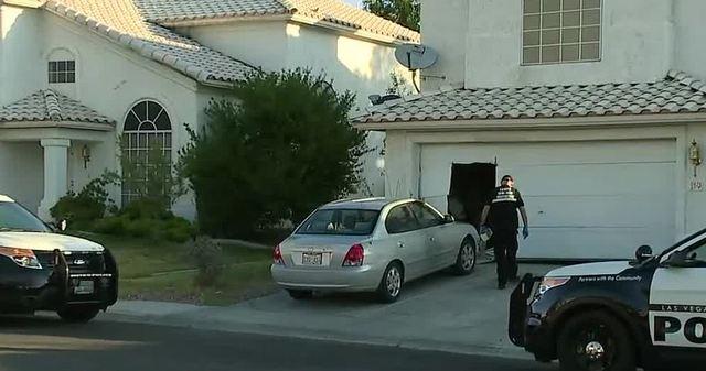 Baby inside home during barricade; men arrested